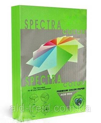 Бумага цветная SPECTRA COLOR А4 155 г/м2 IT321 неон зеленый