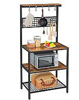 Стеллаж кухонный GoodsMetall металлический в стиле Лофт 1700х850х400 СТЖ1192
