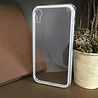 Чехол бампер магнитный для Iphone Xr . Магнитный двухсторонний чехол накладка на айфон Xr