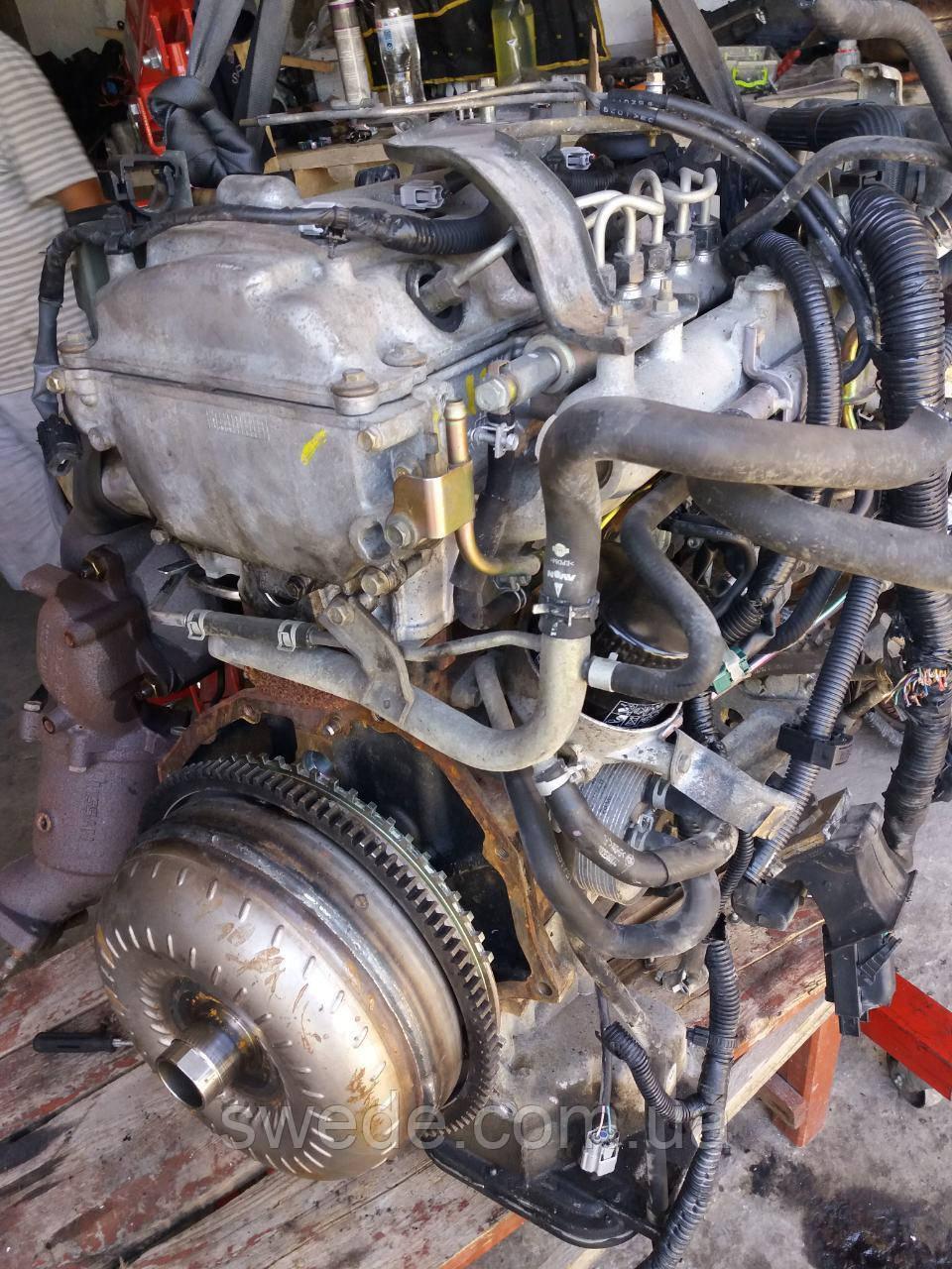 Двигатель Nissan Navara 2.5 DCI 2007 гг YD25
