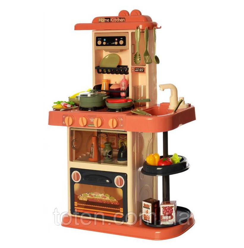 Дитяча кухня 72 см хлопчикові і дівчинці 889-186 Home Kitchen, вода, світло, звук, 38 предметів Т