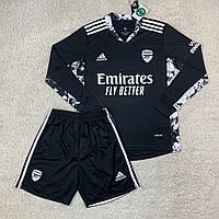 Футбольная форма с длинным рукавом вратарская Арсенал/ Arsenal football uniform 2020-21рр.