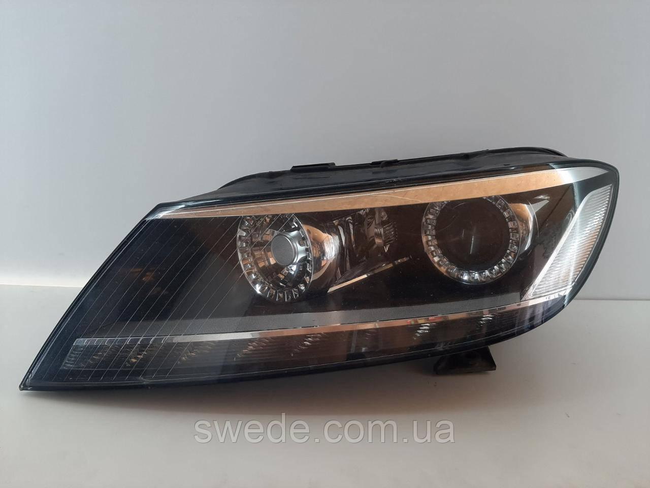 Фара левая Volkswagen Phaeton BI-XENON рестайлинг 2012 гг 3D1941751A