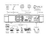 4-канальный видеорегистратор HDCVI DH-XVR5104C-X Белый, фото 4