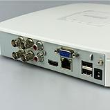 4-канальный видеорегистратор HDCVI DH-XVR5104C-X Белый, фото 3