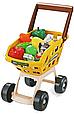 Супермаркет магазин с тележкой 668-79. Касса, сканер, весы, деньги, фрукты/овощи 48 предметов Т, фото 3