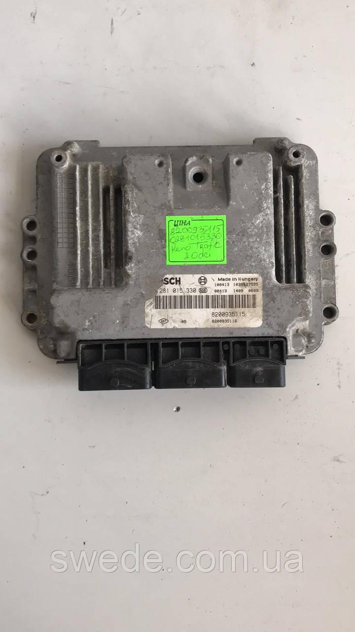 Блок управления двигателем Renault Trafic 2.0 DCI 2000-2014 гг 0281015330