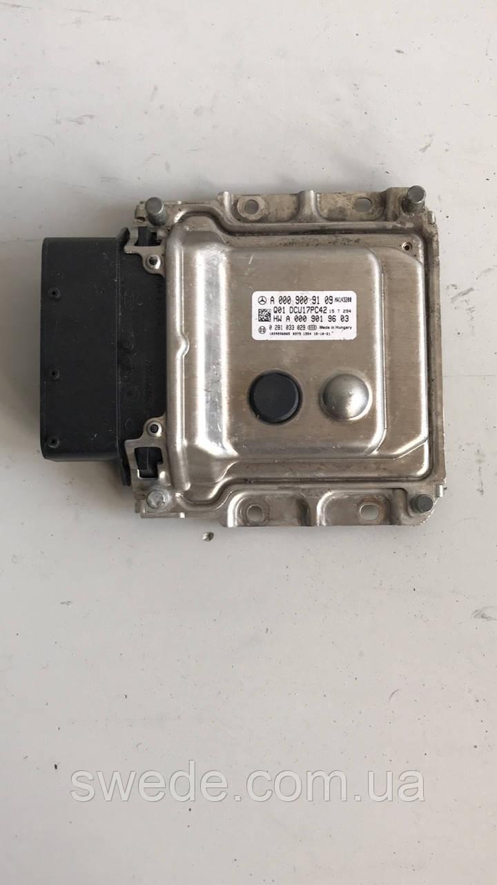 Блок управления двигателем Mercedes W212 2.2 CDI 2012 гг A0009009109
