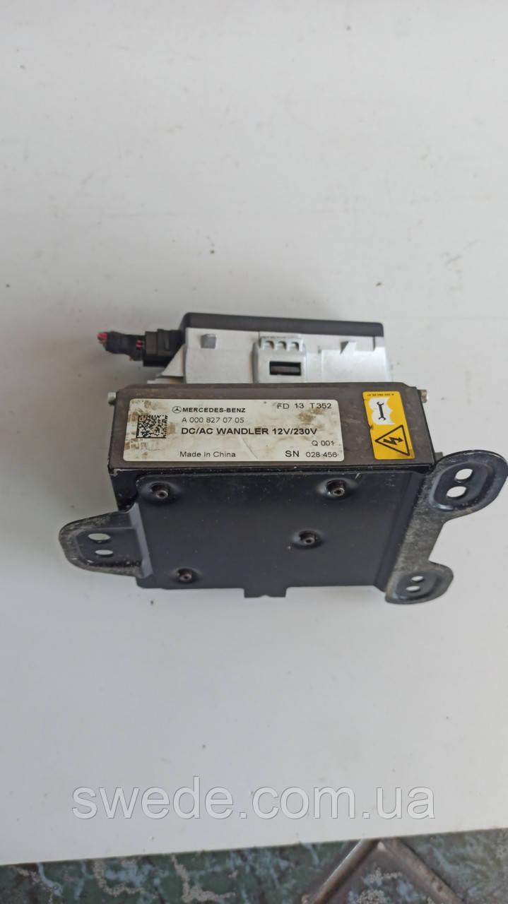 Блок управления напряжения Mercedes W205 A0008270705