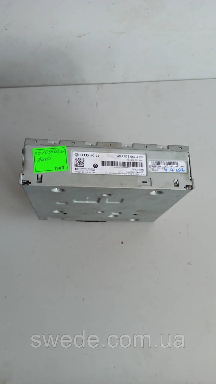 Блок управления мультимедиа Audi A6 C7 2.0 TDI 4G1035053J