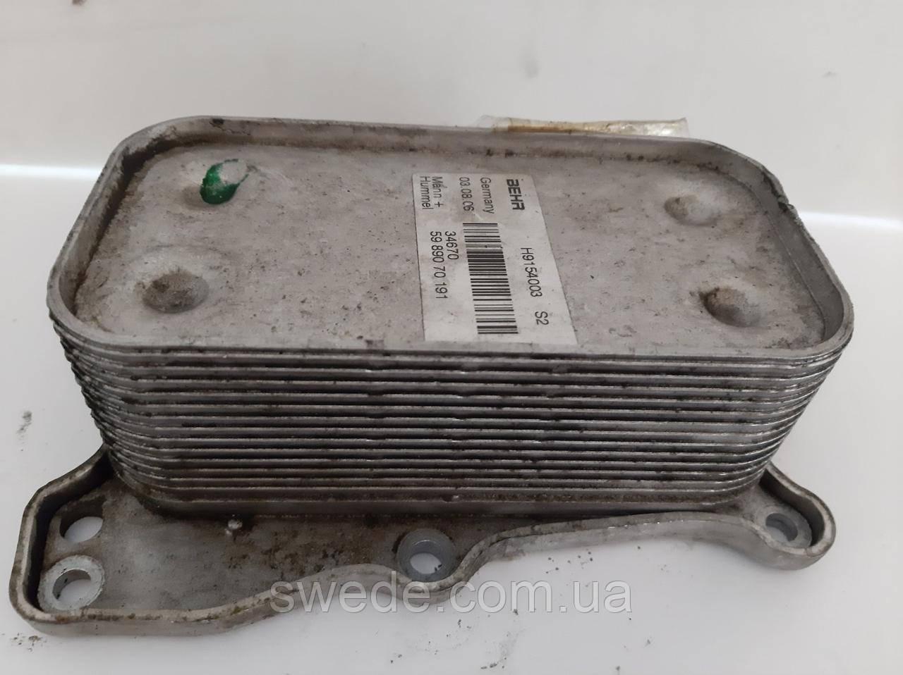 Радиатор масляный Mercedes ML W164 W251 W221 3.5 V6 5989070191