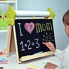 Мольберт детский настольный 5в1 для рисования и учебы ТМ Люмик, фото 9