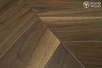 Паркет Американский Орех елка Brand Wood Дуб 14*100*700
