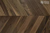 Паркет Американский Орех елка Brand Wood Дуб 14*140*800