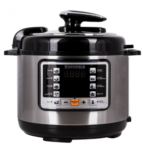 Мультиварка Grunhelm MPC - 11 SB (объём 5 л, 11 программ приготовления пищи, 2 года гарантии)
