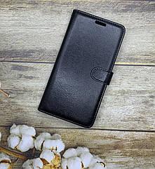 Чехол-книжка для Samsung M30S 2019 (M307F) на магните с хлястиком черный
