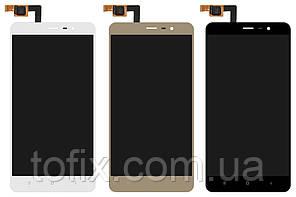 Дисплей для Xiaomi Redmi Note 3, Xiaomi Redmi Note 3 Pro, 147*73 мм, модуль в сборе (экран и сенсор), оригинал