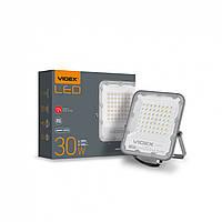 LED прожектор PREMIUM VIDEX F2 30W 5000K AC / DC12-48V, фото 1