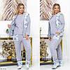 Домашний уютный набор 4 ка. Пижама с теплым жилетом плюс домашние сапожки., фото 2