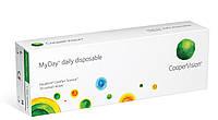 Однодневные контактные линзы MyDay, 30 шт