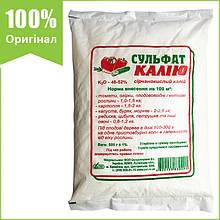 """Удобрение сульфат калия (сернокислый калий), 500 г, от """"ОВИ"""", Украина"""
