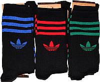 Носки мужские высокие в стиле Adidas 42-45 размер. 12 пар.