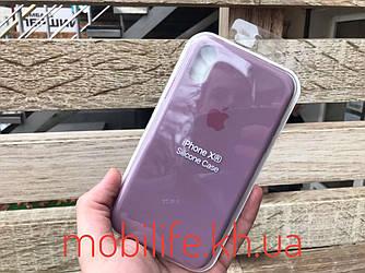 Чехол Silicon Case Original Apple iPhone XR/Blueberry/Высокое Качество/