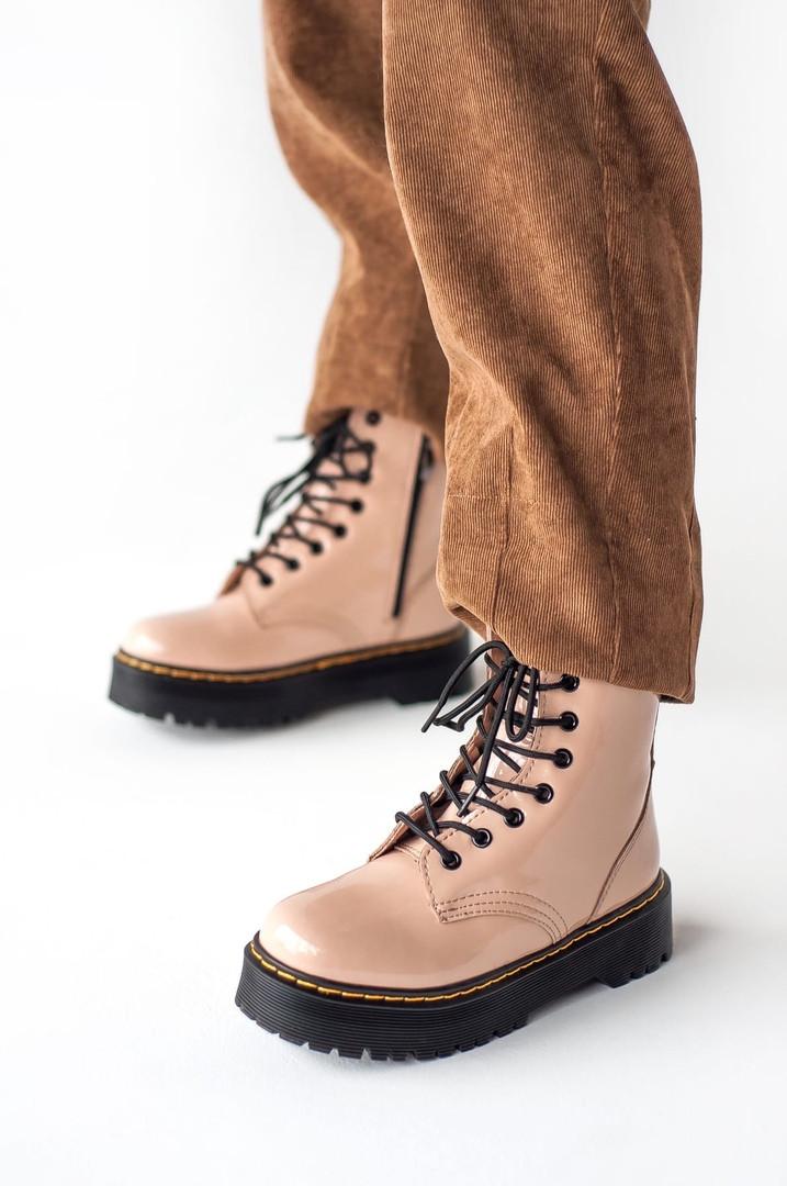 "Женские ботинки в стиле Jadon Patent ""Beige"""