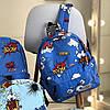 Рюкзак для школяра з яскравим принтом, фото 2