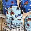 Рюкзак для школяра з яскравим принтом, фото 3