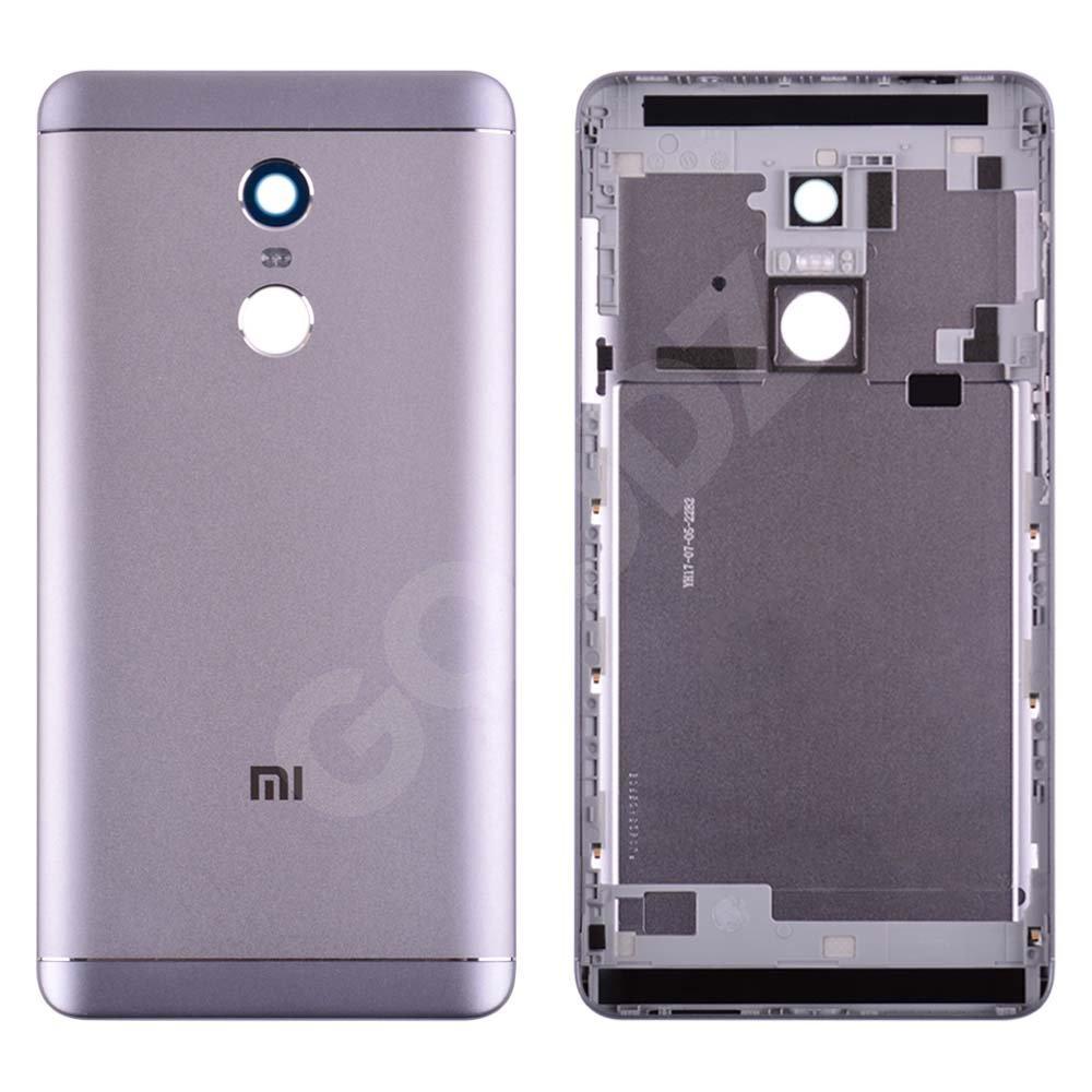 Задняя крышка Xiaomi Redmi Note 4/4X Snapdragon 625, цвет серый