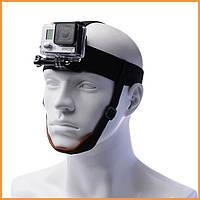 Крепление на голову с фиксацией на подбородке Head Strap mount GoPro