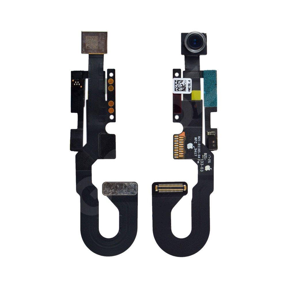Шлейф для iPhone 8 с датчиками освещенности, приближения и фронтальной камерой