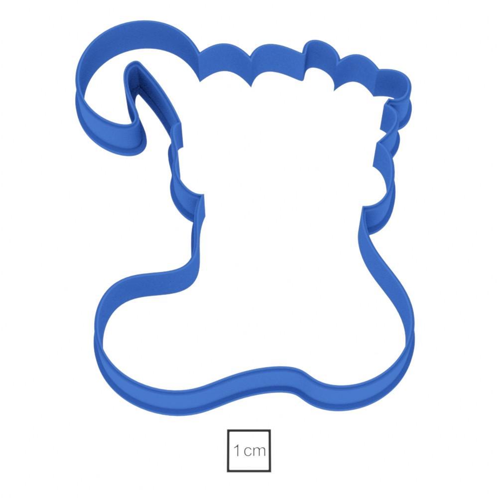 Висічка для пряників у вигляді валянка