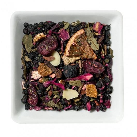 Чай з ягодами: візуалізація