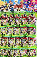 Браул Старс Brawl Stars фигурка + 3 карточки 60 сезон