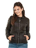 Короткая куртка Диана Черный
