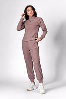 Оригинальный, теплый, качественный спортивный костюм из трикотажной ткани