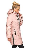 Куртка Аміна Пудра Розмір 44