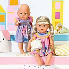 Платье для куклы Беби Борн Baby Born Милое платье (розовое) 828243-1, фото 4