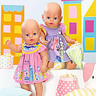 Платье для куклы Беби Борн Baby Born Милое платье (розовое) 828243-1, фото 3