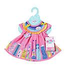 Платье для куклы Беби Борн Baby Born Милое платье (розовое) 828243-1, фото 5
