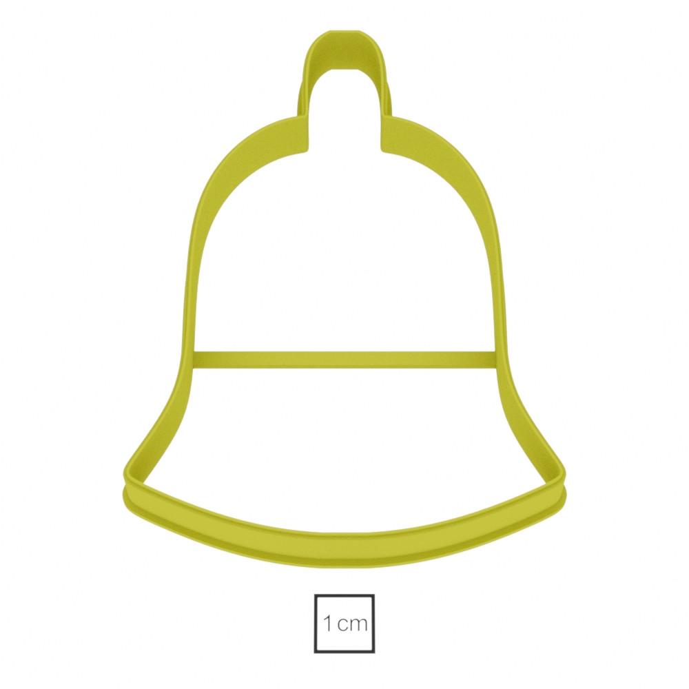 Висічка для пряників у вигляді простого дзвоника