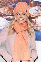 Женский зимний набор (шапка и шарф)