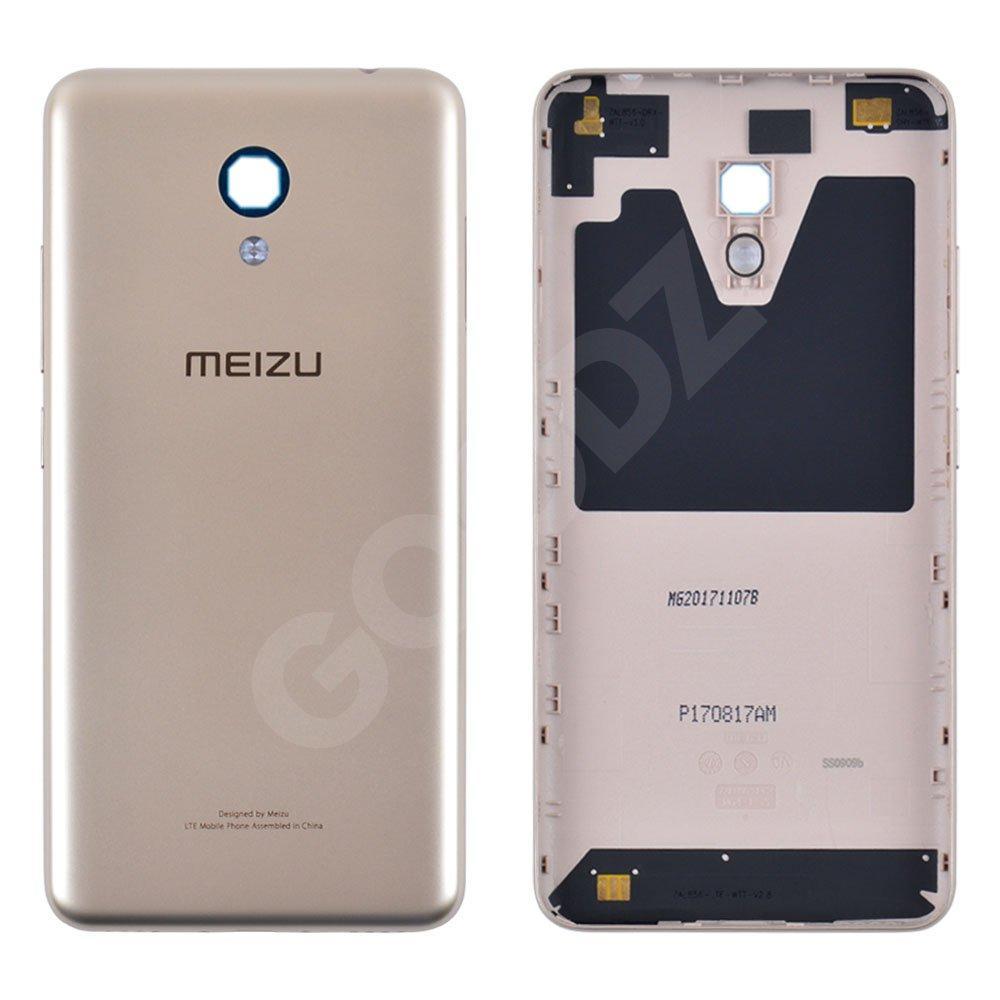 Задняя крышка для Meizu M5C, цвет золотой