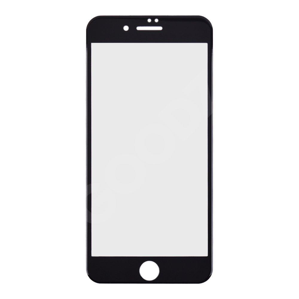Защитное стекло для iPhone 7 Plus, 8 Plus (5D), цвет черный
