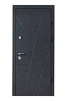 Двері вхідні металеві Булат Гарант 850*2050/950*2050 176 Вулична Бетон Антрацит Наружний