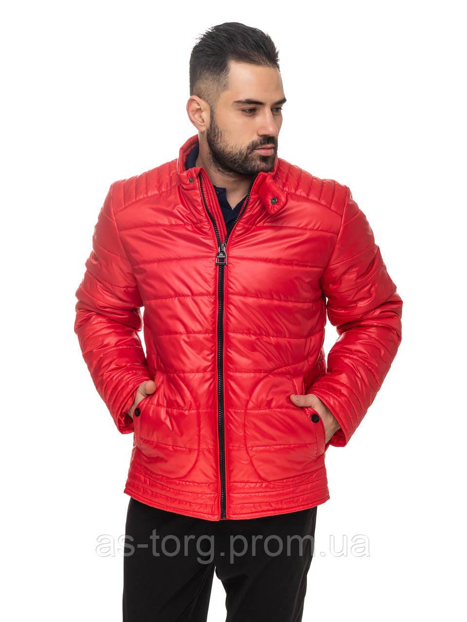 Удлиненная куртка Мирон Красный Размер