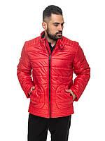 Удлиненная куртка Мирон Красный Размер, фото 1