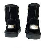 Детские угги сапоги черные для мальчика и девочки, фото 2